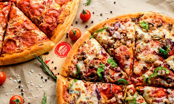 Фуд-съёмка для Pizza Hut