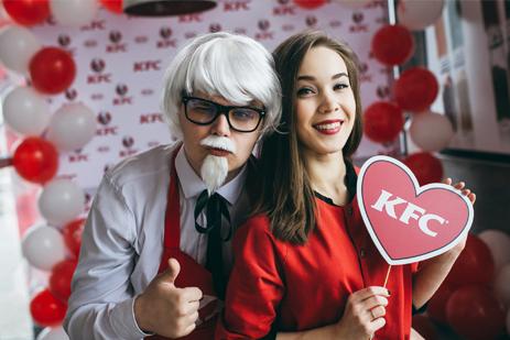 KFC: ведение соцсетей